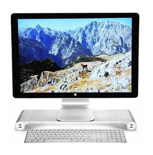 Soporte Aluminio Para iMac Stand Puertos Usb Base Monitor