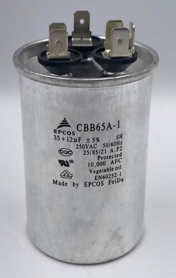 Capacitor Cbb65a-1 Epcos 250 Vac 35+12uf-1001 Coisas