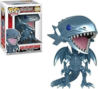 Funko Pop Yu-gi-oh! Blue-eyes White Dragon 389 Original