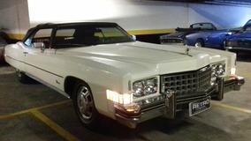 Cadillac Eldorado Conversível 1972 Garagem Retrô