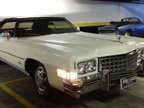 Cadillac Eldorado Conversível 1973 Garagem Retrô