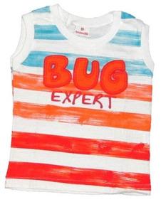 Camiseta Brandili Regata - Bebê Meninos Até 1 Ano