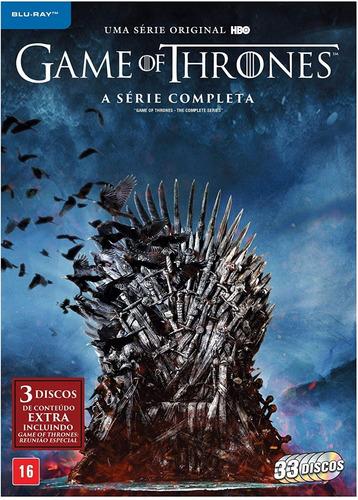 Imagem 1 de 2 de Bluray Game Of Thrones Série Completa