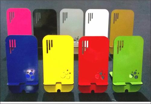 Imagen 1 de 4 de 100 Soporte Apoya Celular Personalizados Souvenirs Regalos