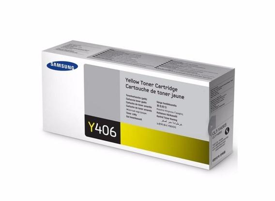 Toner Compatível Clt-y406s Yellow Clp-365w/clx-3305w Novo