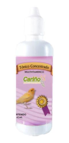 Tónico Concentrado Multivitamínico Para Aves 40 Ml Cariño