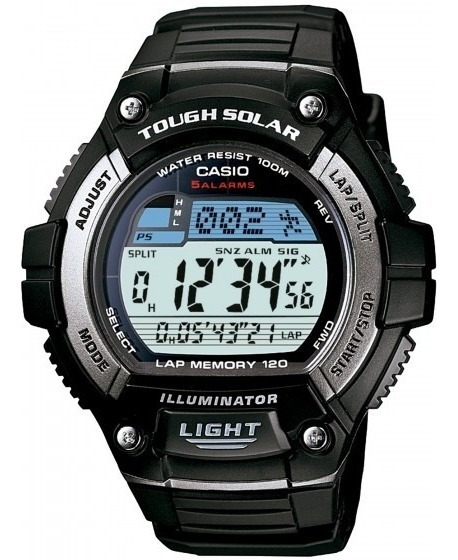 Relógio Casio W-s220-1avdf Padrão Hora Mundial - Refinado