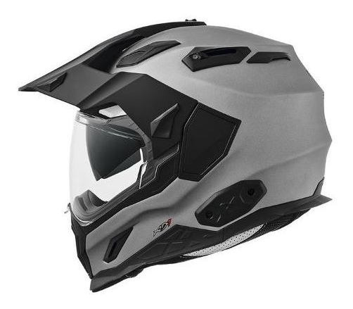 Casco Dual Sport Nexx Xd1 Plain Titanium Graph Mate