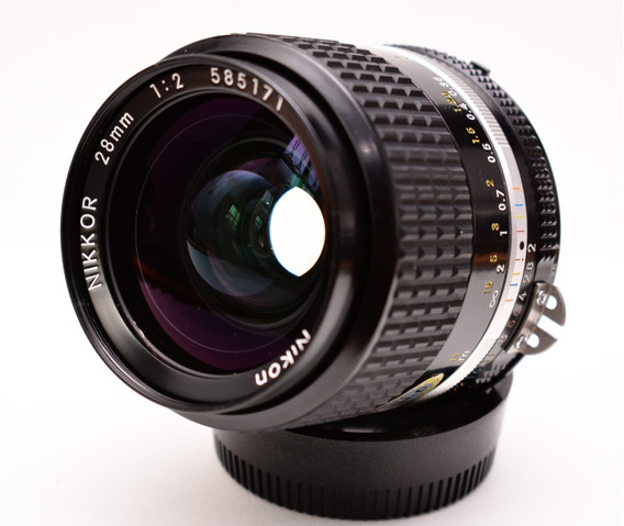 Lente Nikon Nikkor 28 F2 Ais