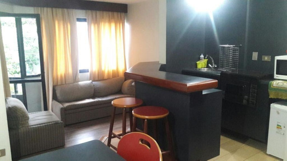 Apartamento Com 1 Dormitório À Venda, 48 M² Por R$ 340.000 - Brooklin Paulista - São Paulo/sp- Forte Prime Imóveis - Ap61112
