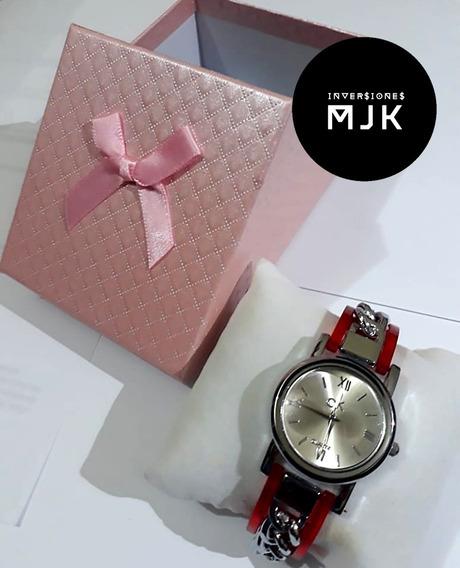 Reloj Mujer Calvin Klein Casual Elegante Acero Inoxidable