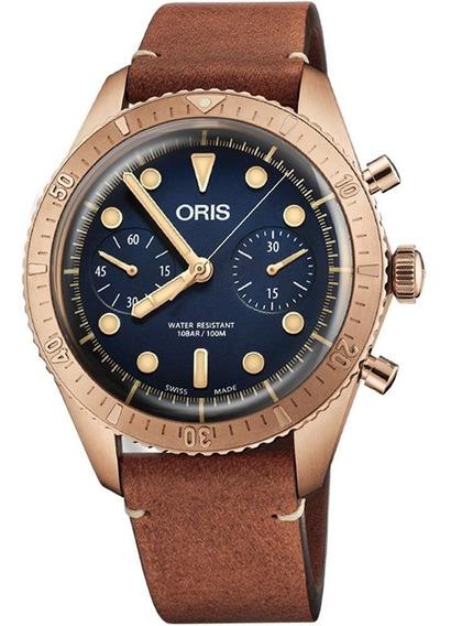 Reloj Oris Carl Brashear Original Para Hombre 77177443185