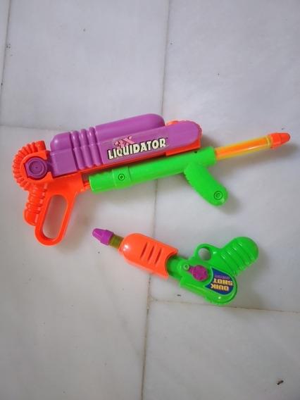 Pistola De Agua Impulsa Con Presión De Aire