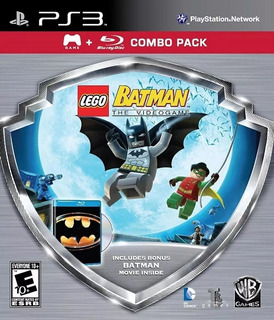 Lego Batman The Videogame (ps3) + Película Blu-ray Combo
