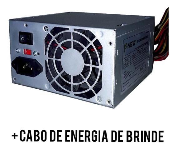 Fonte De Alimentação Power Suply - Atx 24 Pinos Cv205 - 200w
