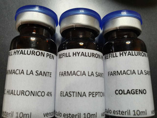 Recarga Hyaluron Pen Elastina Hialuronico Colageno Anti Age