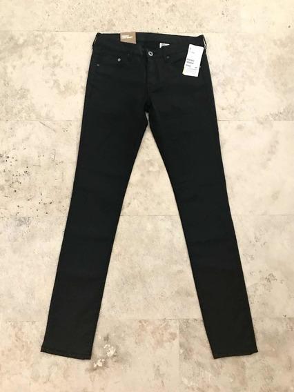 Efekto Moda Pantalón H & M Negro Skinny Talla 26