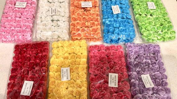 72 Flores De Papel A Elección! Oferta! Hermosas!!