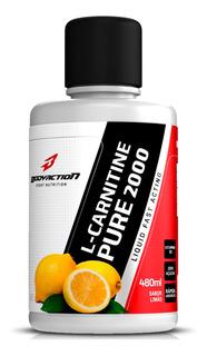 Carnitina L- Carnitine Pure 2000 Líquido 480ml Bodyaction