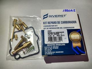 Reparo Carburador Ybr Factor 125 09... Siverst