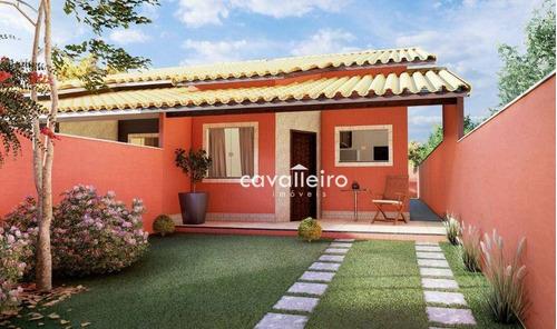 Imagem 1 de 14 de Casa Com 2 Dormitórios À Venda, 72 M² - São José De Imbassai - Maricá/rj - Ca4822