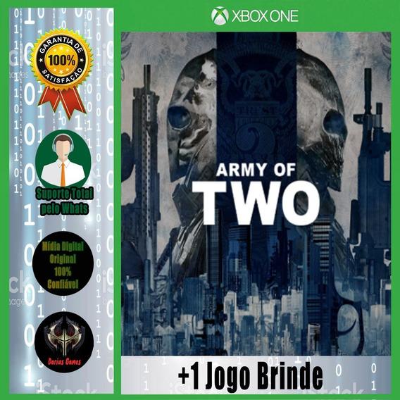 Army Of Two Xbox One Midia Digital +1 Jogo Brinde