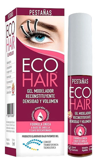 Ecohair Gel Modelador Reconstituyente Pestaña 5ml Eco Hair