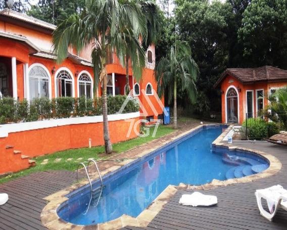 Espetacular Casa Em Condomínio Na Granja Viana - Cc00274 - 34369762
