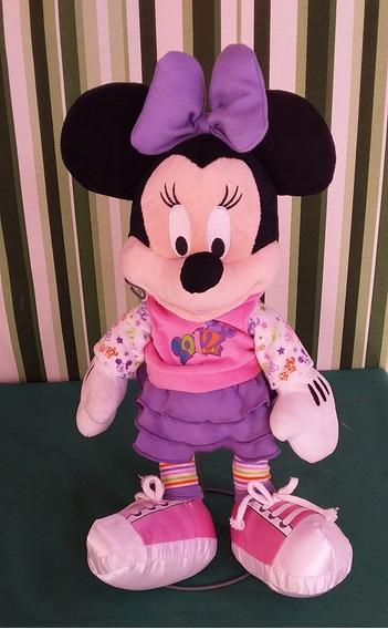 Minnie De Pelúcia Original Da Disney Store