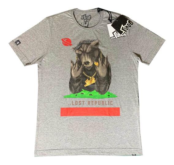 Camiseta Lost Original Califórnia Urso