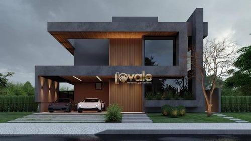 Imagem 1 de 6 de Casa Com 4 Dormitórios À Venda, - Ca2065