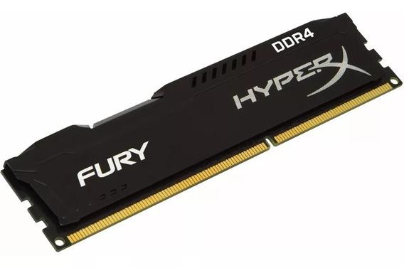 Memoria Ram Ddr4 8gb 2400 Mhz Kingston Hyperx Fury Black