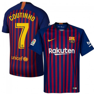 Camisa Do Barcelona 2018/2019 Original Champions- F.grts