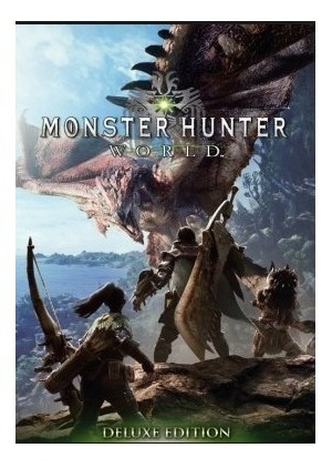 Monster Hunter World Deluxe Edition-pc-dvd(midia Fisica)