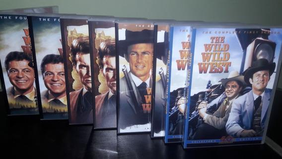 Dvd James West Completo - 32 Dvds - 4 Temporadas ( Digital )