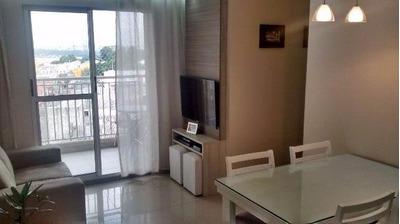 Apartamento Em Vila Sao Joao, Guarulhos/sp De 61m² 3 Quartos À Venda Por R$ 350.000,00 - Ap94601
