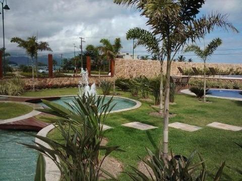 Terreno Para Venda Em Loteamento Fechado De Alto Padrão De Frente Para O Mar Na Praia De Massaguaçu Pronto Para Construir Com Planta Aprovada Pela Pre - Te00111 - 33370975
