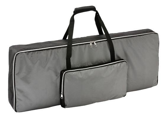 Nov Bag Teclados Korg Modelos Ek-50 Pa300 61 Teclas C/ Alça