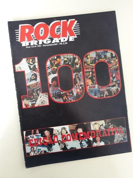 Revista Rock Brigade N°100 Edição Comemorativa Bon Jovi