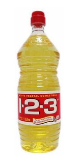 123 Aceite Vegetal Botella 1 L