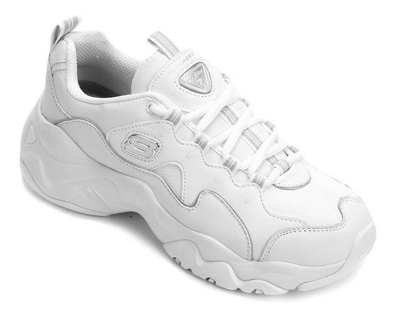 Tênis Skechers D-lites 3.0 Branco Feminino - 1337