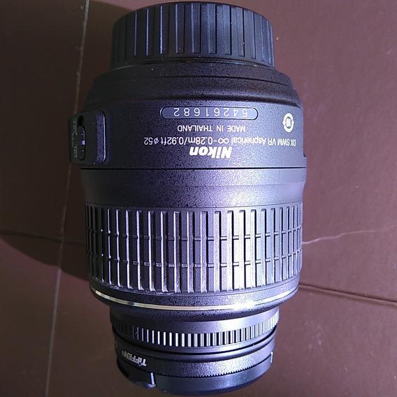 Lente Nikon Dx Af-s Vr Nikkor 18-55mm Nova