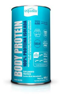 Equaliv Body Protein 100% Proteína Isolada 450g Sabor Neutro