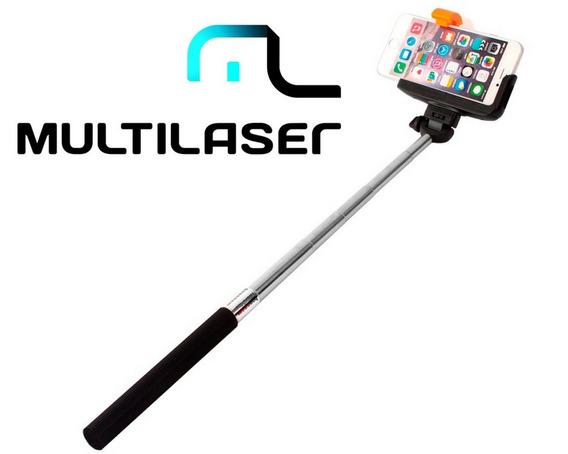 Bastão Para Fotos Selfie Stick Bluetooth - Ac271 - Promoção