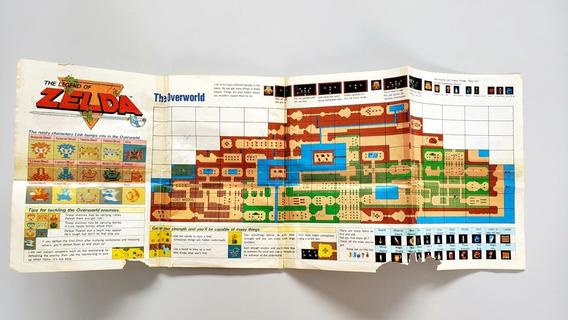 Zelda Mapa Original Nes Nintendinho