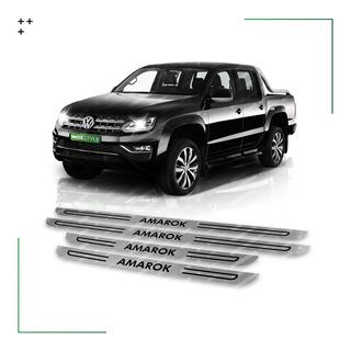 Kit 4 Cubre Zócalos Accesorios Vw Volkswagen Amarok Estribos