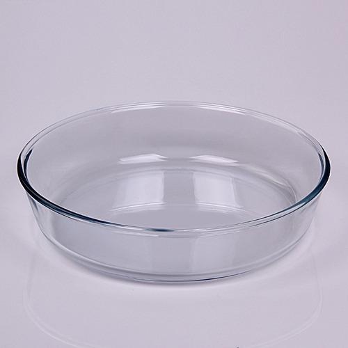 Tortera Redonda 26 Cm O Cuisine Para Horno Vidrio Templado