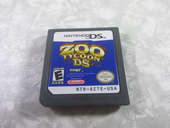 Nintendo Ds - Zoo Tycoon - Original Americano