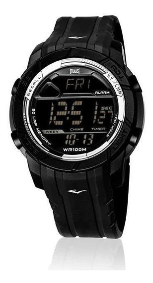Relógio Pulso Everlast Masculino Digital Preto E700