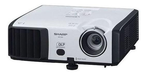 Projetor Sharp Vision Xr-32x-l Vga Dvi 2600 Lumens Garantia